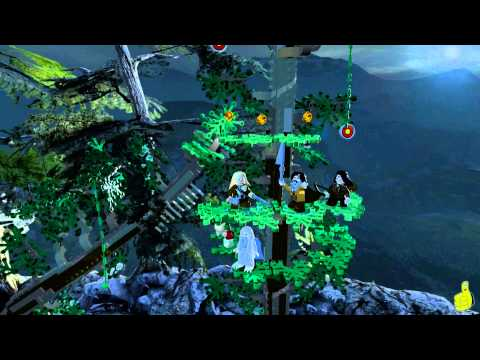 Lego The Hobbit: Level 8 Out of the Frying Pan – FREE PLAY (All Minikits, Treasures & Design) – HTG