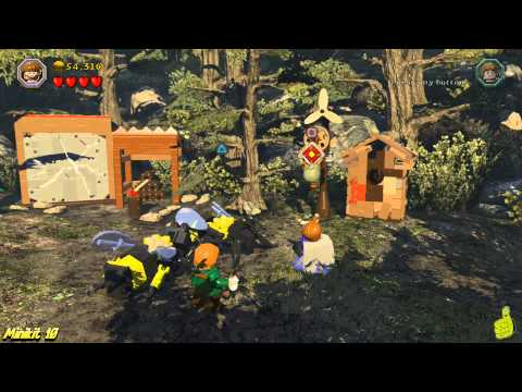 Lego The Hobbit: Level 9 Queer Lodgings – FREE PLAY (All Minikits, Treasures & Design) – HTG