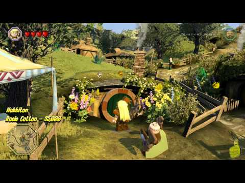 Lego The Hobbit: Middle-earth Free Roam – Elven Port & Hobbiton – HTG