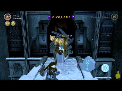 Lego The Hobbit: Middle-earth Free Roam – Lego Loot Dispenser Location – HTG