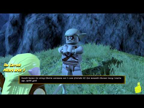 Lego The Hobbit: Middle-earth Free Roam – The Carrock & Beorn's Homestead – HTG