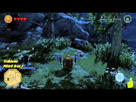 Lego The Hobbit: Middle-earth Free Roam – Trollshaws – HTG