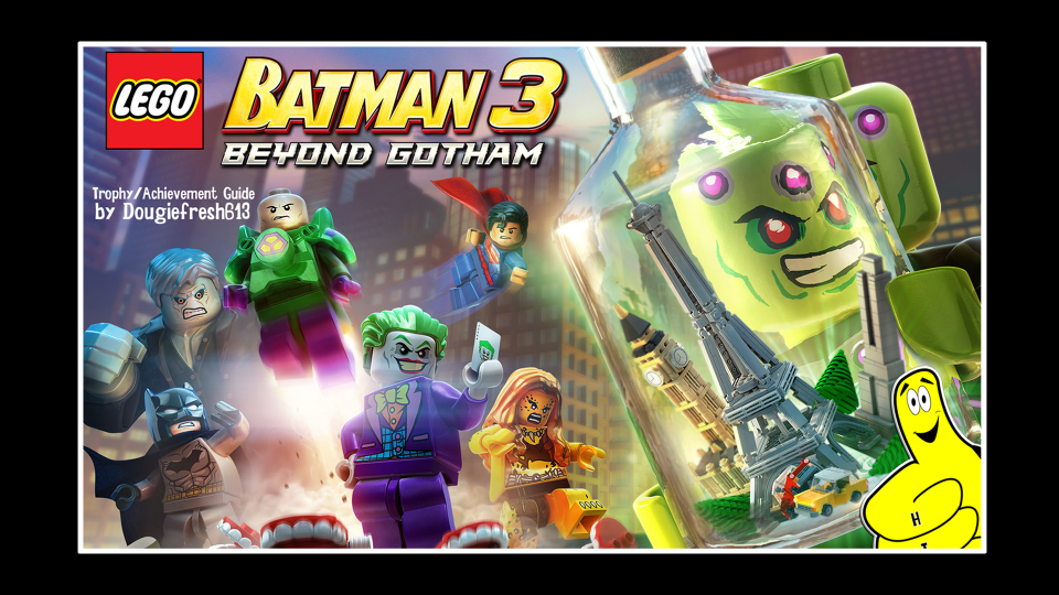 LEGO Batman 3 Beyond Gotham: Trophy/Achievement List and Guide – HTG
