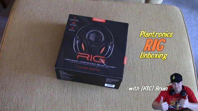 Plantronics RIG Headset: Unboxing (First Look) – HTG