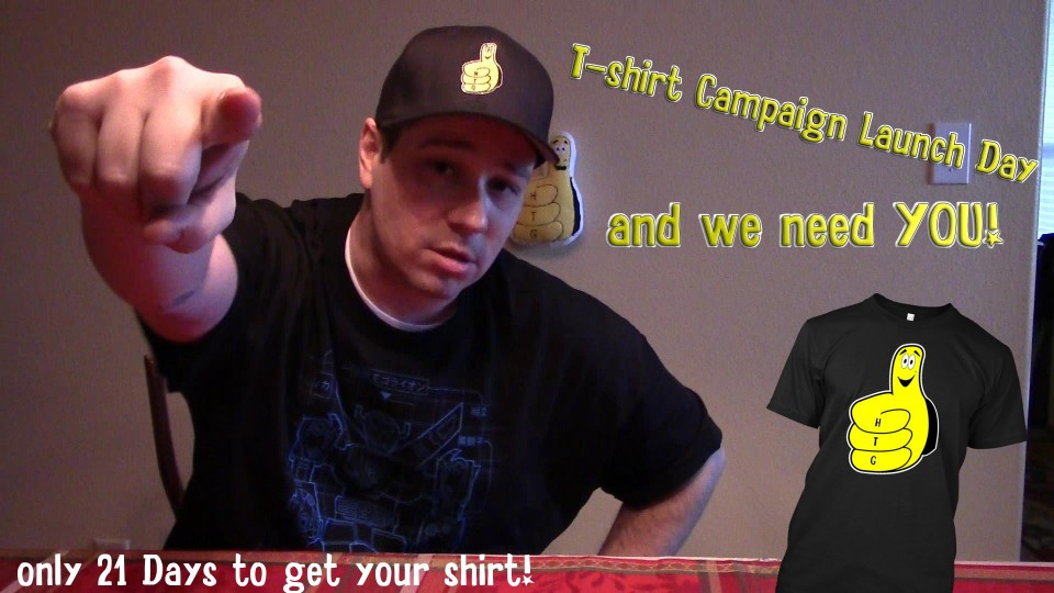 Gamebreak: HappyThumbsGaming Thumby T-Shirt Announcement – HTG