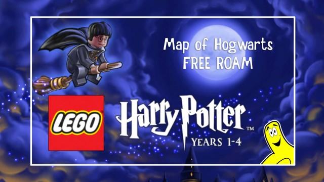 Lego Harry Potter Years 1-4 FREE ROAM Map