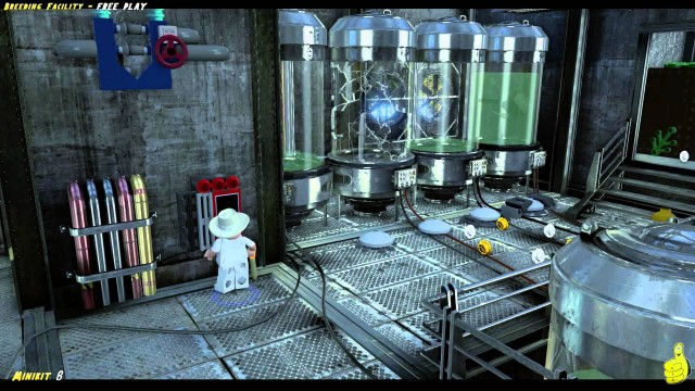 Lego Jurassic World: Level 13 Breeding Facility FREE PLAY (All Collectibles) – HTG