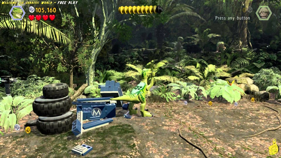 Lego Jurassic World: Level 16 Welcome To Jurassic World FREE PLAY (All Collectibles) – HTG