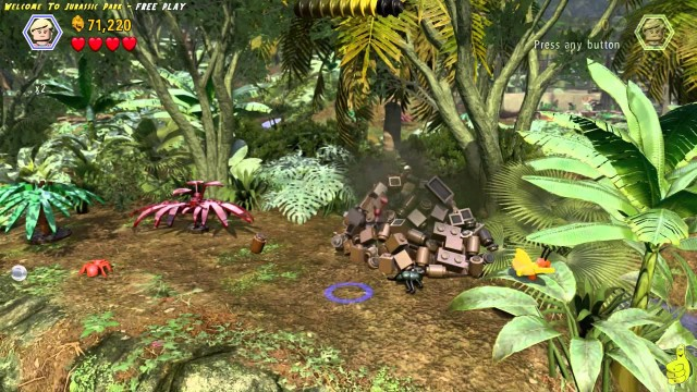 Lego Jurassic World: Level 2 Welcome To Jurassic Park FREE PLAY (All Collectibles) – HTG