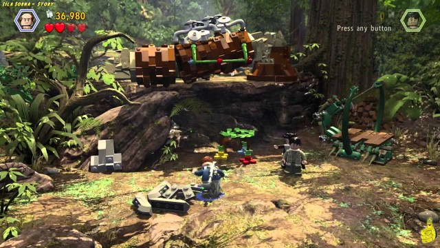 Lego Jurassic World: Level 6 STORY That's How It All Starts Trophy/Achievement – HTG