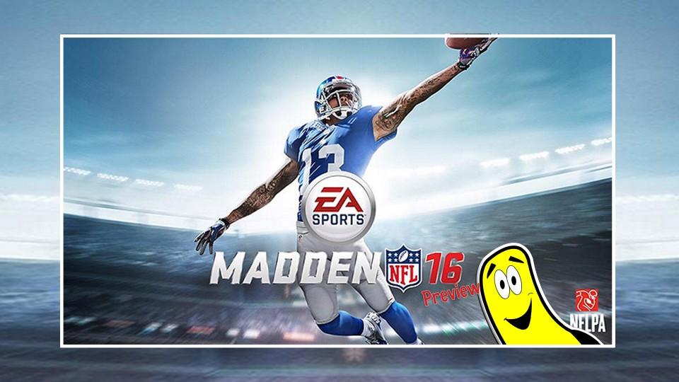 Madden NFL 16 Preview – HTG