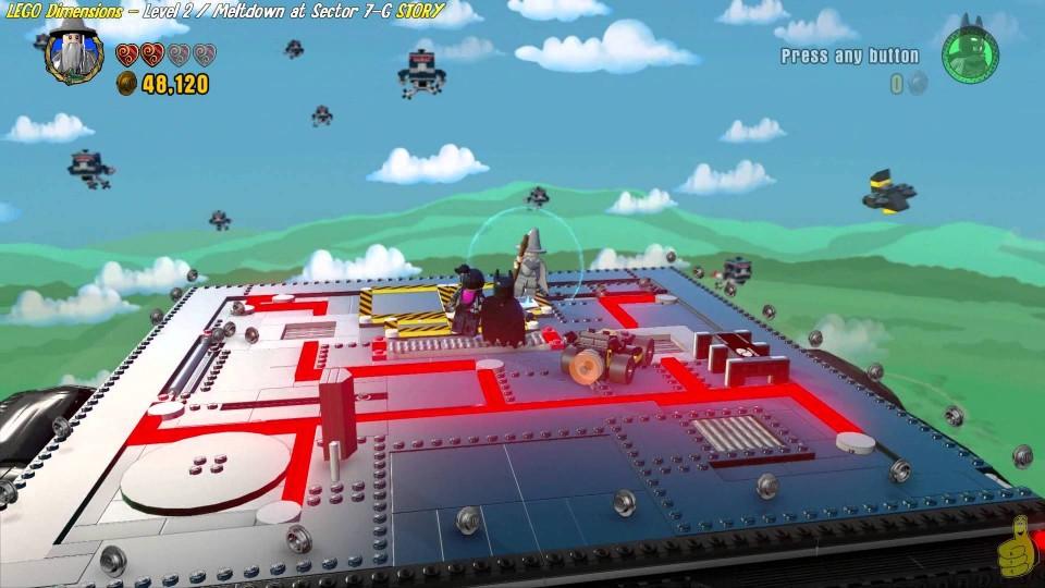 Lego Dimensions: Lvl 2 Meltdown at Sector 7G/Chroma Simpson Trophy/Achievement – HTG
