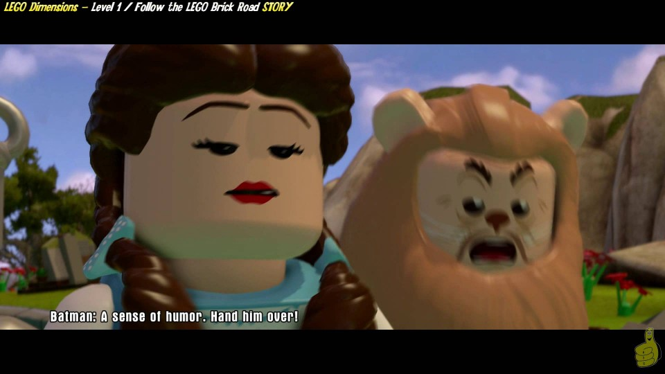 Lego Dimensions: Lvl1 Follow the LEGO Brick Road/There's No Place Like…This – HTG