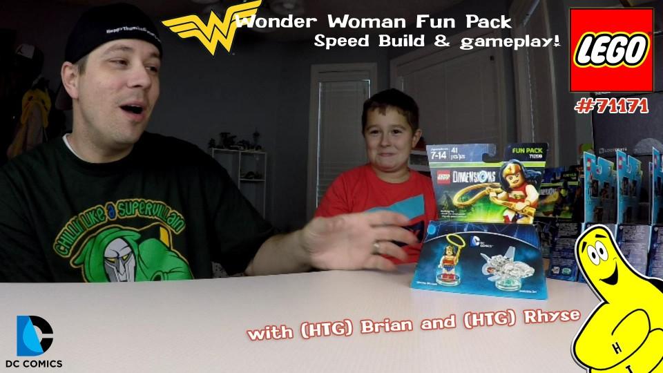 Lego Dimensions #71209 Wonder Woman Fun Pack Speed Build – HTG