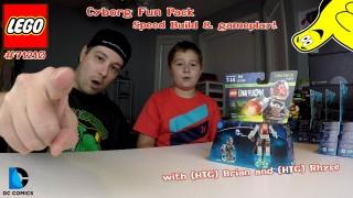 Lego Dimensions: Cyborg Fun Pack #71210 Speed Build & Gameplay – HTG
