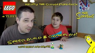 Lego Dimensions: #71227 Krusty The Clown Unboxing/SpeedBuild/Gameplay – HTG