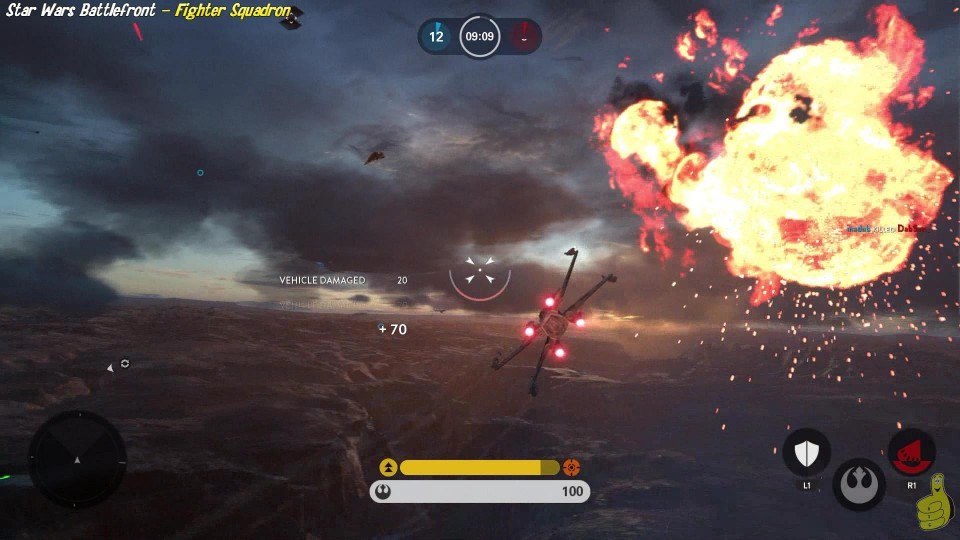 Star Wars Battlefront: Fighter Squadron Gameplay – HTG