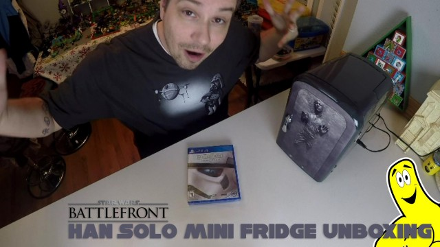 Star Wars Battlefront: Han Solo Mini Fridge Unboxing – HTG