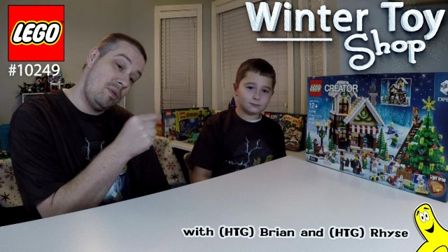 LEGO Speed Build: Winter Toy Shop #10249 w/ Brian and Rhyse – HTG