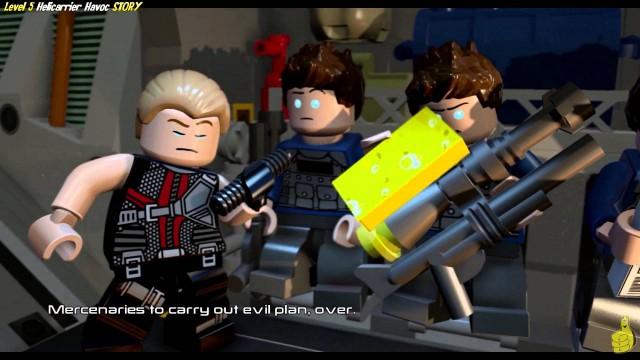 Lego Marvel Avengers: Level 5 STORY/Helicarrier Havoc Trophy/Achievement – HTG