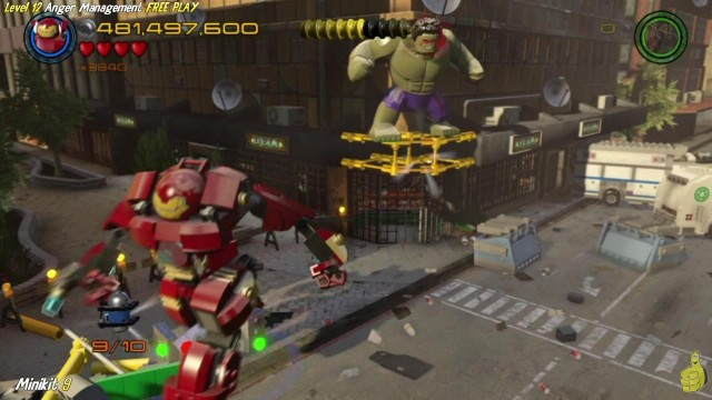 Lego Marvel Avengers: Lvl 12 / Anger Management FREE PLAY (All Collectibles) – HTG
