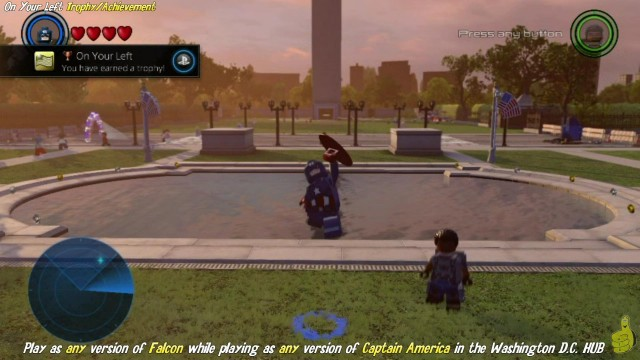 "Lego Marvel Avengers: ""On Your Left"" & ""We're Connected"" Trophy/Achievement – HTG"