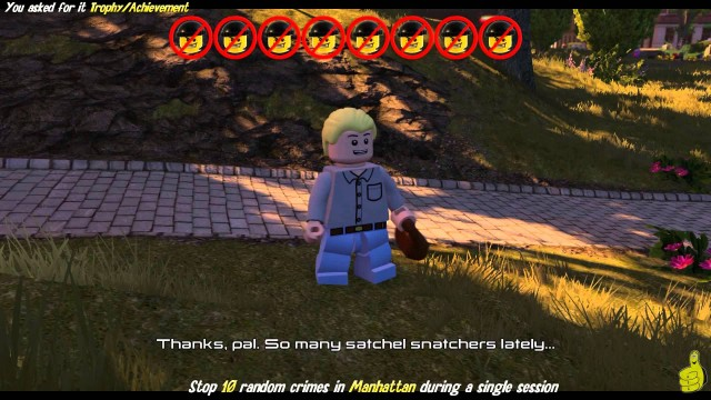 "Lego Marvel Avengers: ""You Asked For It"" Trophy/Achievement – HTG"
