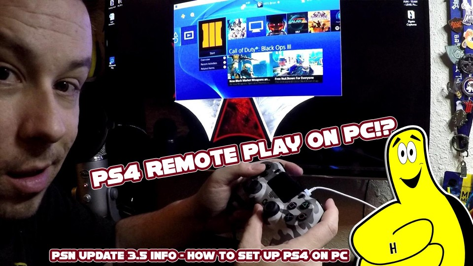 Gamebreak: PSN Update 3.50 Info/ PS4 Remote Play on PC (How to) – HTG