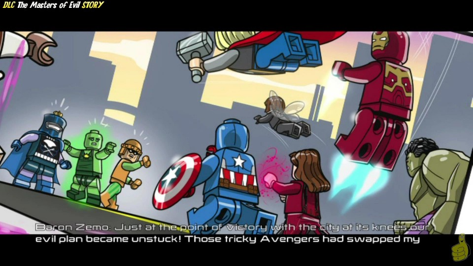 Lego Marvel Avengers: DLC Masters of Evil STORY / A Sticky Situation Trophy/Achievement – HTG