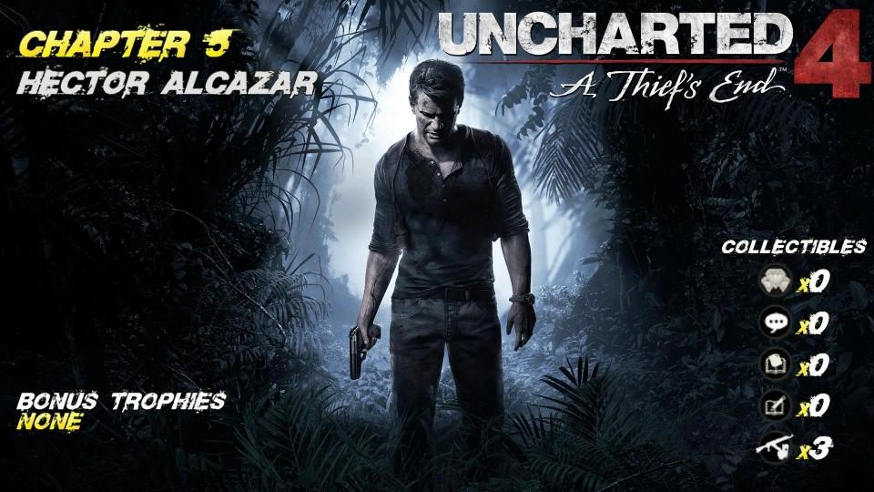 Uncharted 4 Chap. 5 Hector Alcazar (All Collectibles) – HTG