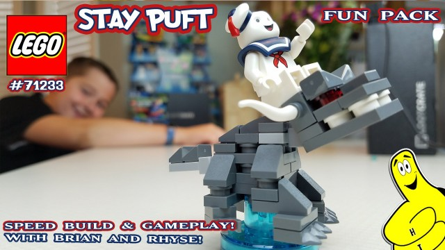 Lego Dimensions: #71233 Ghostbusters Stay Puft FUN Pack Unboxing/SpeedBuild/Gameplay – HTG