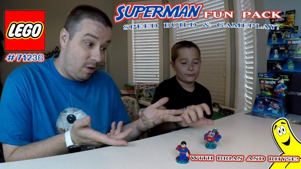 Lego Dimensions: #71236 DC Comics Superman FUN Pack Unboxing/SpeedBuild/Gameplay – HTG