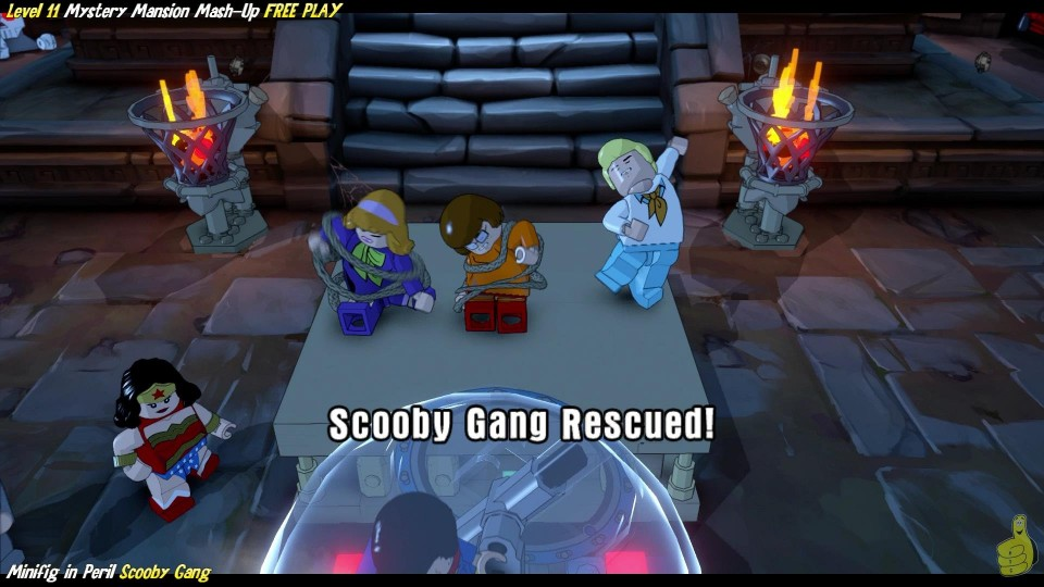Lego Dimensions: Mystery Mansion Mash-Up (All 10 Minikits & Minifig In Peril) – HTG