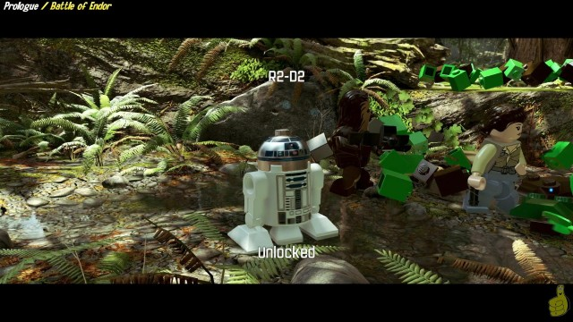 Lego Star Wars The Force Awakens: Prologue/Battle Of Endor STORY – HTG