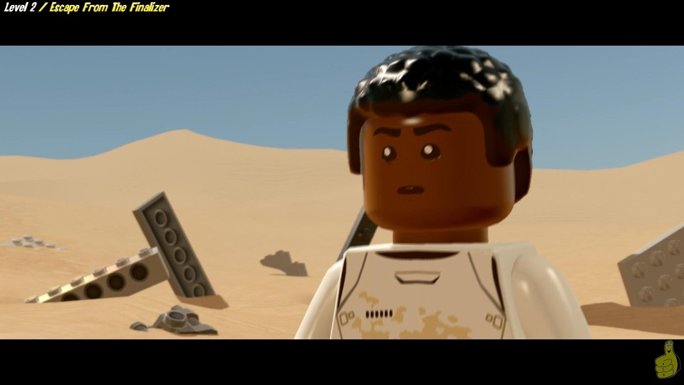Lego Star Wars The Force Awakens: Lvl 2 / Escape From The Finalizer  STORY – HTG