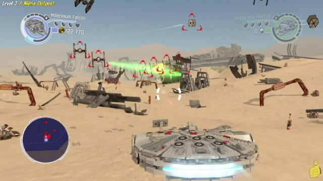 Lego Star Wars The Force Awakens: Lvl 3 / Niima Outpost STORY – HTG