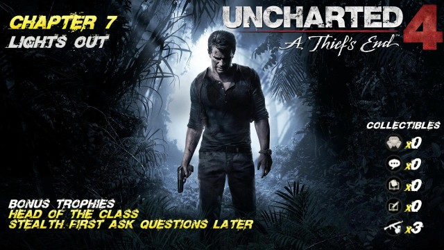 Uncharted 4: Chap. 7 Lights Out (All Collectibles) – HTG