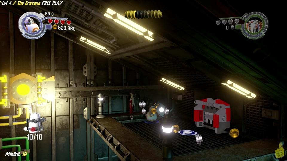 Lego Star Wars The Force Awakens: 4 / The Eravana FREE PLAY (All Minikits & Red Brick) – HTG