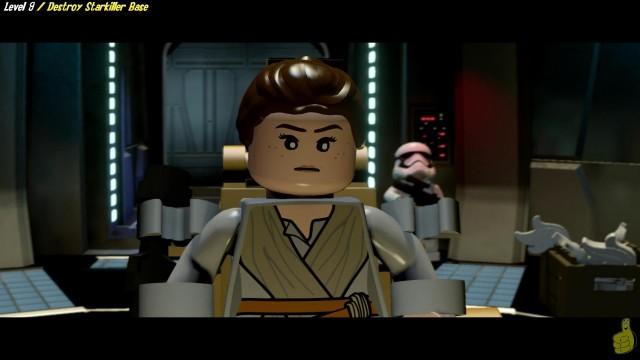 Lego Star Wars The Force Awakens: Lvl 9 / Destroy Starkiller Base STORY – HTG
