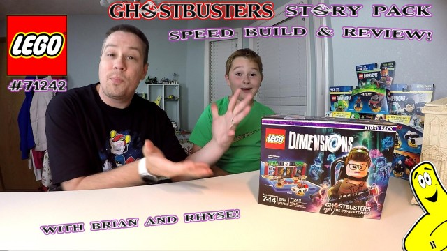 Lego Dimensions: #71242 Ghostbusters (2016) STORY PACK Unboxing/SpeedBuild – HTG