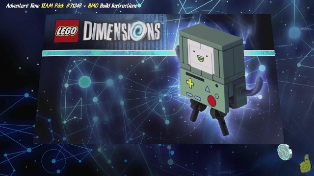 Lego Dimensions: BMO / Build Instructions (Adventure Time TEAM Pack #71246) – HTG