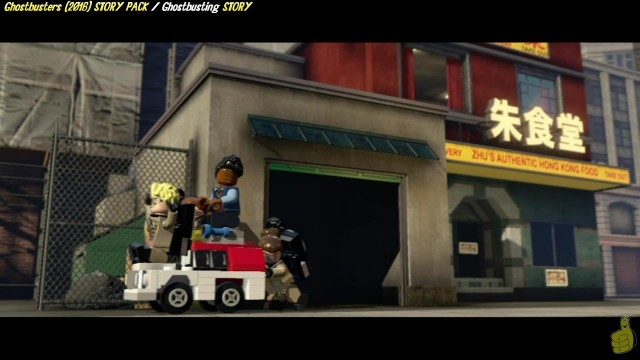 Lego Dimensions: Ghostbusters (2016) / Ghostbusting! STORY – HTG