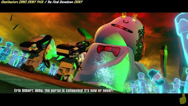Lego Dimensions: Ghostbusters (2016) / The Final Showdown STORY – HTG
