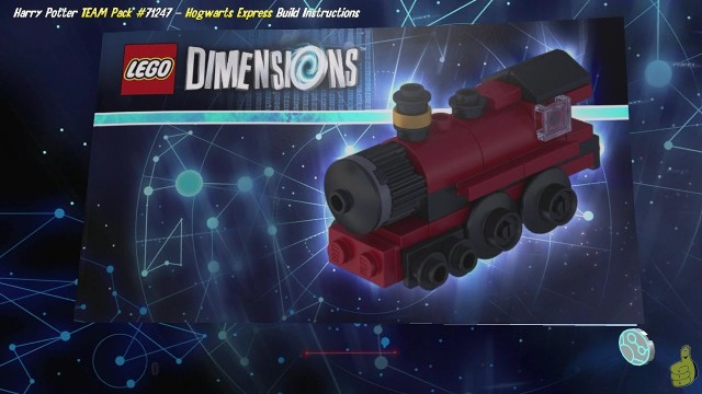 Lego Dimensions: Hogwarts Express / Build Instructions (Harry Potter TEAM Pack #71247) – HTG