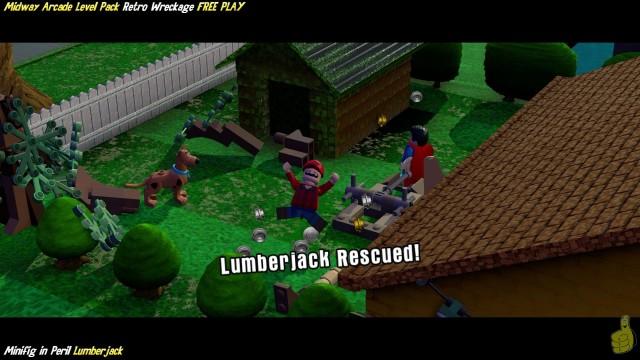 Lego Dimensions: Retro Wreckage / Midway Arcade (All 10 Minikits & Minifig In Peril) – HTG