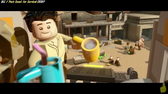 Lego Star Wars The Force Awakens: DLC Poe's Quest For Survival STORY – HTG