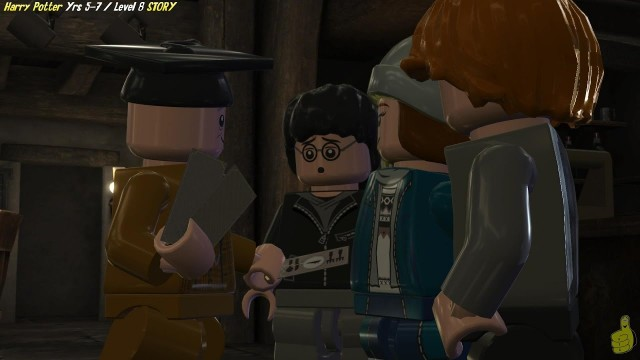 Lego Harry Potter Years 5-7: Level 8 / Just Dessert STORY – HTG