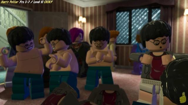 Lego Harry Potter Years 5-7: Level 13 / The Seven Harrys' STORY – HTG