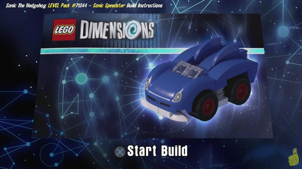Lego Dimensions: Sonic Speedster / Build Instructions (Sonic the Hedgehog LEVEL Pack #71244) – HTG