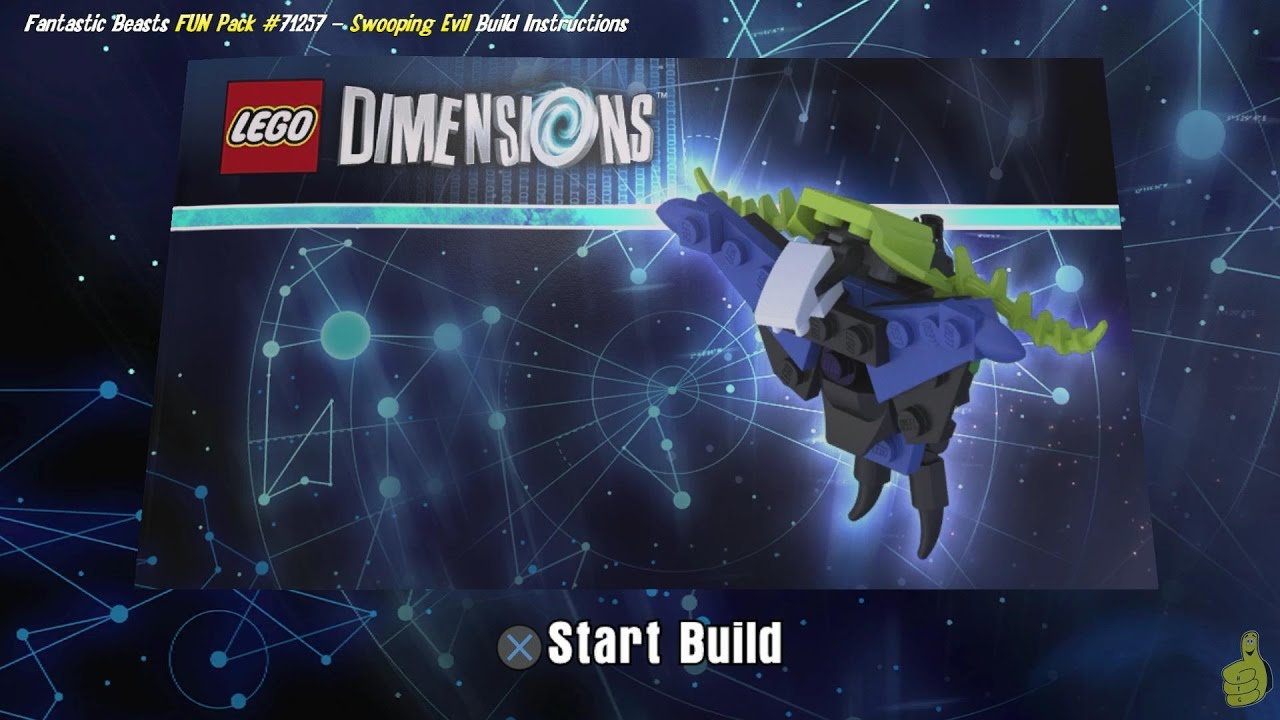 Lego Dimensions: Swooping Evil / Build Instructions (Fantastic Beasts FUN Pack #71257) – HTG